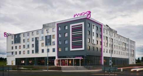 A new Moxy hotel at Edinburgh airport