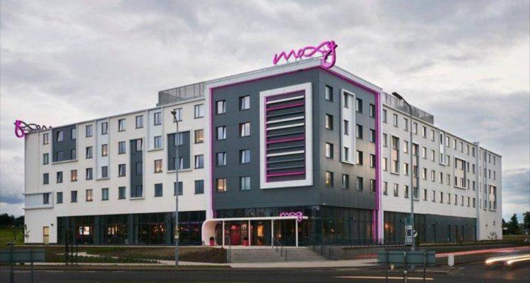 A new Moxy hotel at Edinburgh airport