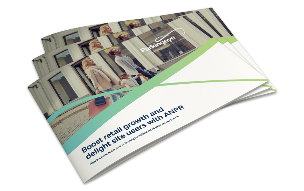 Brochure on how to boost retail growth with ANPR